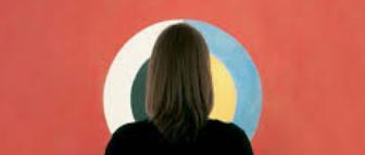 Stillbild ur filmen om Hilma af Klint.